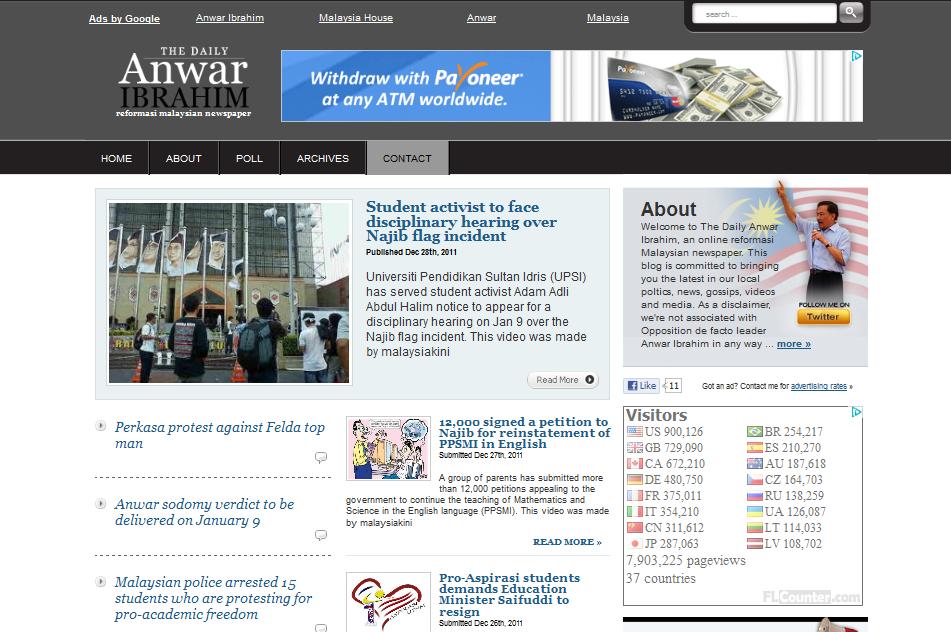 anwarib Premium NewsPaper Theme for WordPress