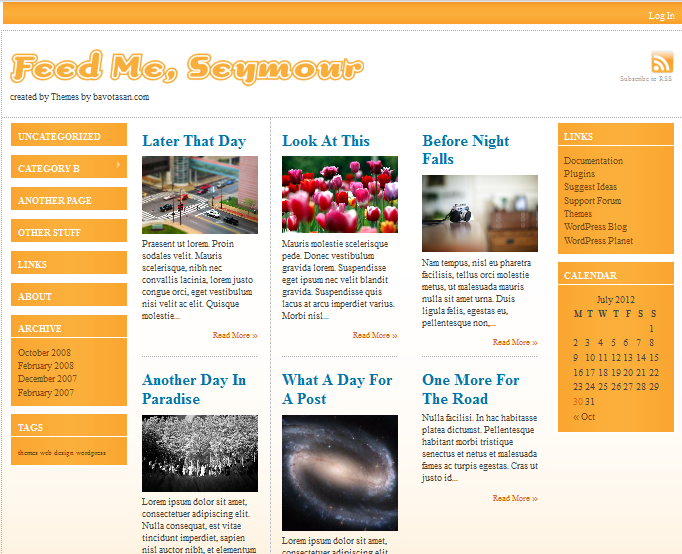 feed-me-seymour wordpress themes