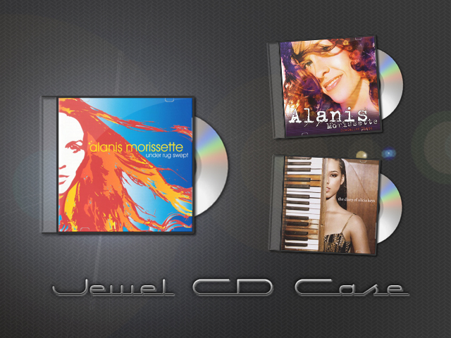 Jewel CD Case by minikeewee