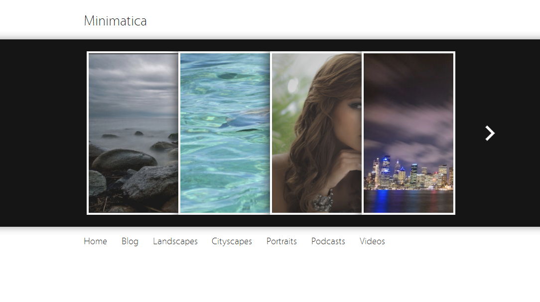 minimatica WordPress theme