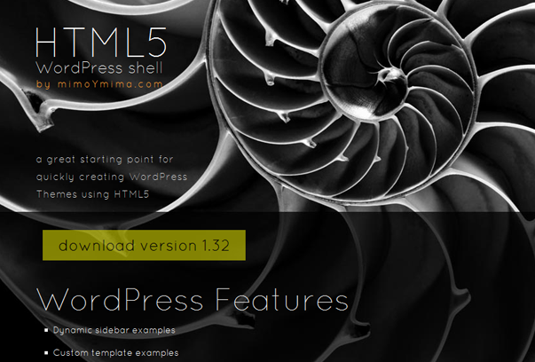 HTML5 WordPress Shell