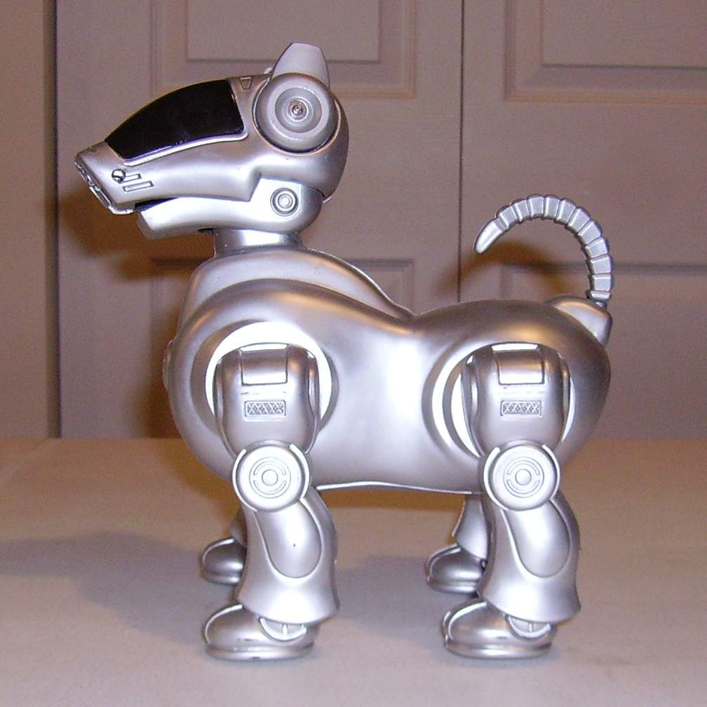 the name is mind controlled robot dogs