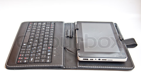 Tablet PC and leather wallet