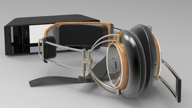 concept of iPhone Headset
